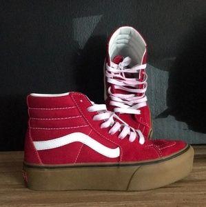 Platform vans Sk8-Hi shoes